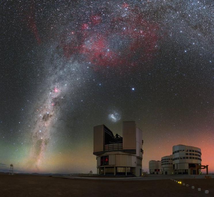 Biggest Telescopes VLT