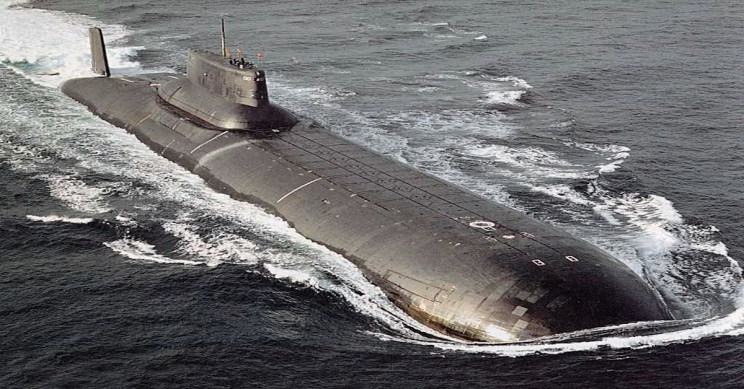"Biggest Submarine in the World ""Dmitriy Donskoy"""