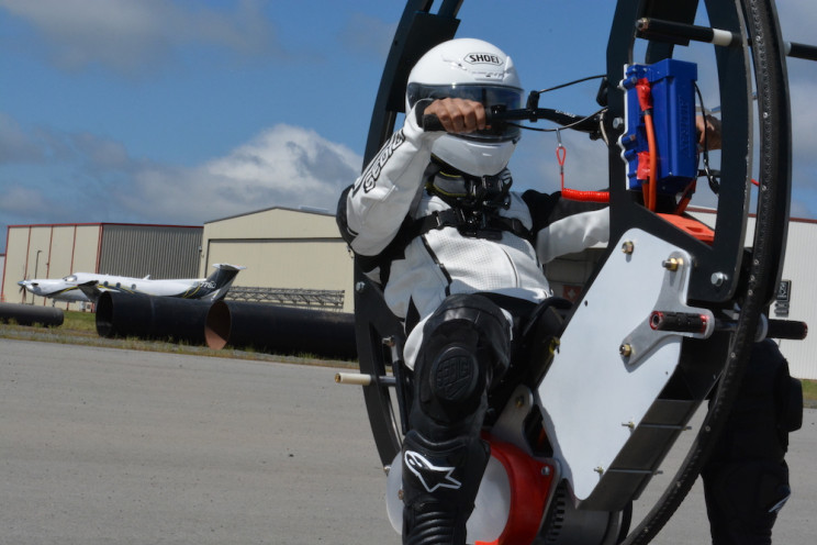 Duke University Engineers Build the World's Fastest Electric Monowheel
