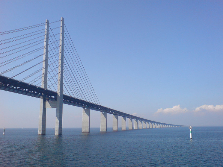 The Øresund Bridge, Denmark