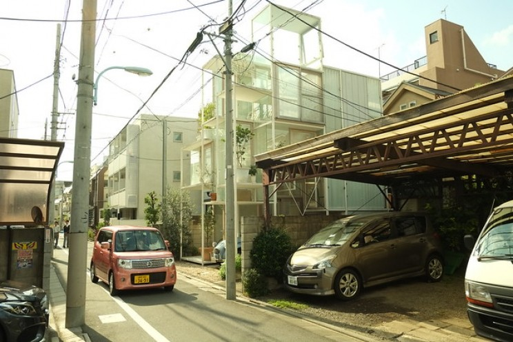 small unique houses tokyo
