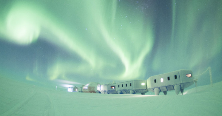 'Abandoned' Antarctic Research Station, Halley VI, is Doing Science on Its Own