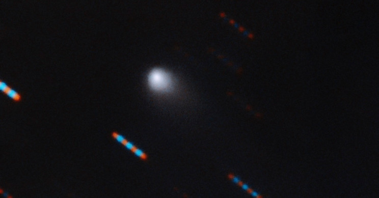 First Colored Image of Interstellar Comet Captured by Gemini Observatory
