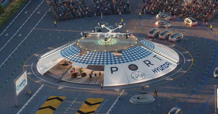 English City to Host World-first Electric Flying Car Airport