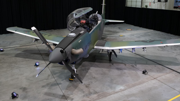 US Air Force's First AT-6E Wolverine Aircraft Will Not Fight