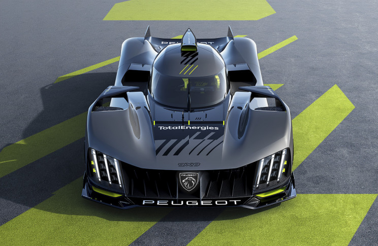 Peugeot Unveils 9X8, a Wingless Hypercar Ready to Race