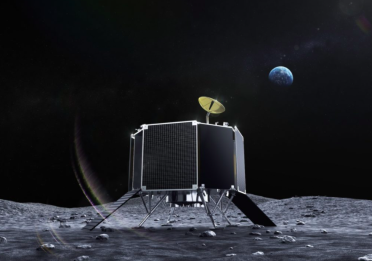 A New Japanese Lunar Lander Joins the Moon Race: Ispace Series 2