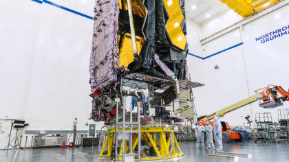 NASA Is Preparing to Launch James Webb Space Telescope