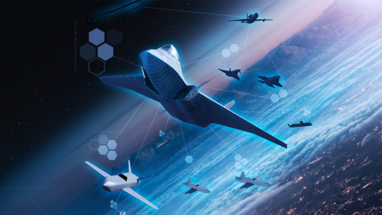 UK's Sixth-Generation Combat Air System Enters Concept Phase