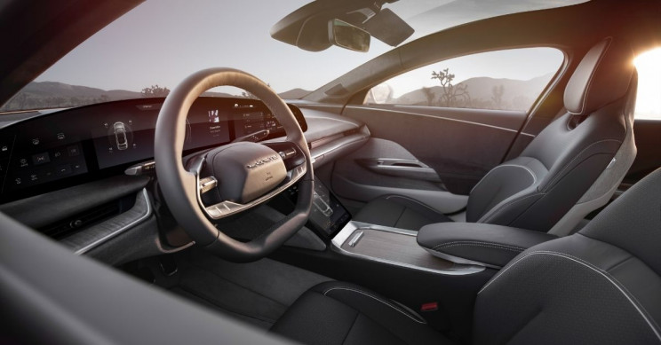 Lucid Motors Lucid Air Interior Driver Floats