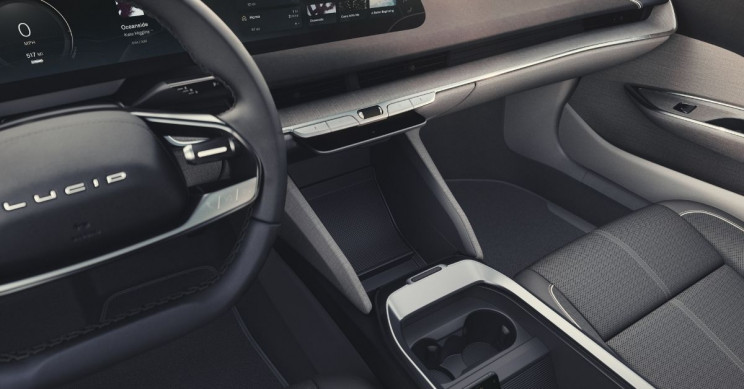 Lucid Motors Lucid Air Interior Driver View