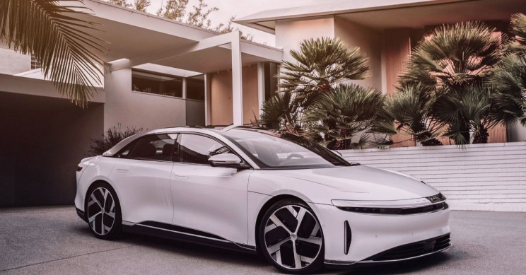 Lucid Motors Lucid Air Parked