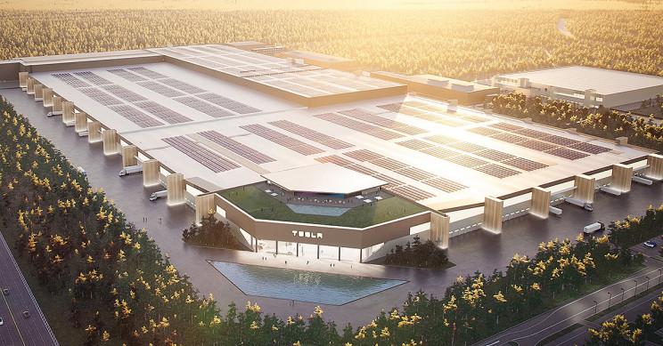 Elon Musk Teases First Look at Tesla's Berlin Gigafactory