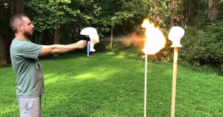 Uncle Rob COVID-19 Mask Blowtorch YouTube