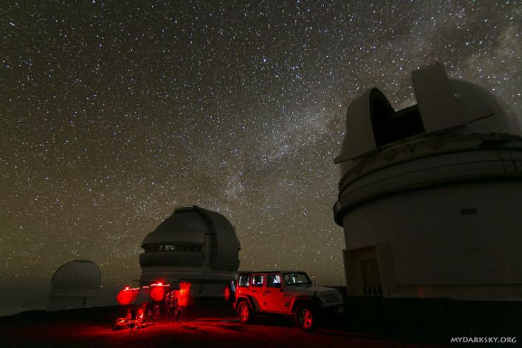astronomy tourist spots muanu kea