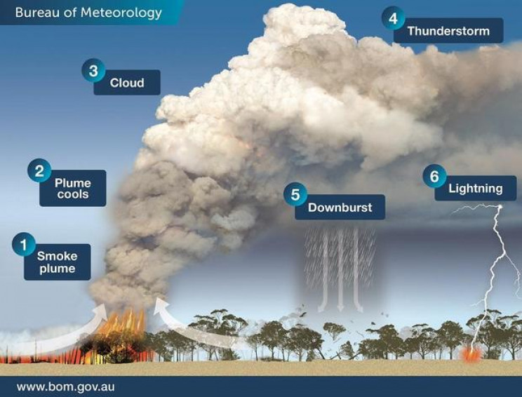 Australia Bushfires Are Generating Thunderstorms That Can Start More Fires
