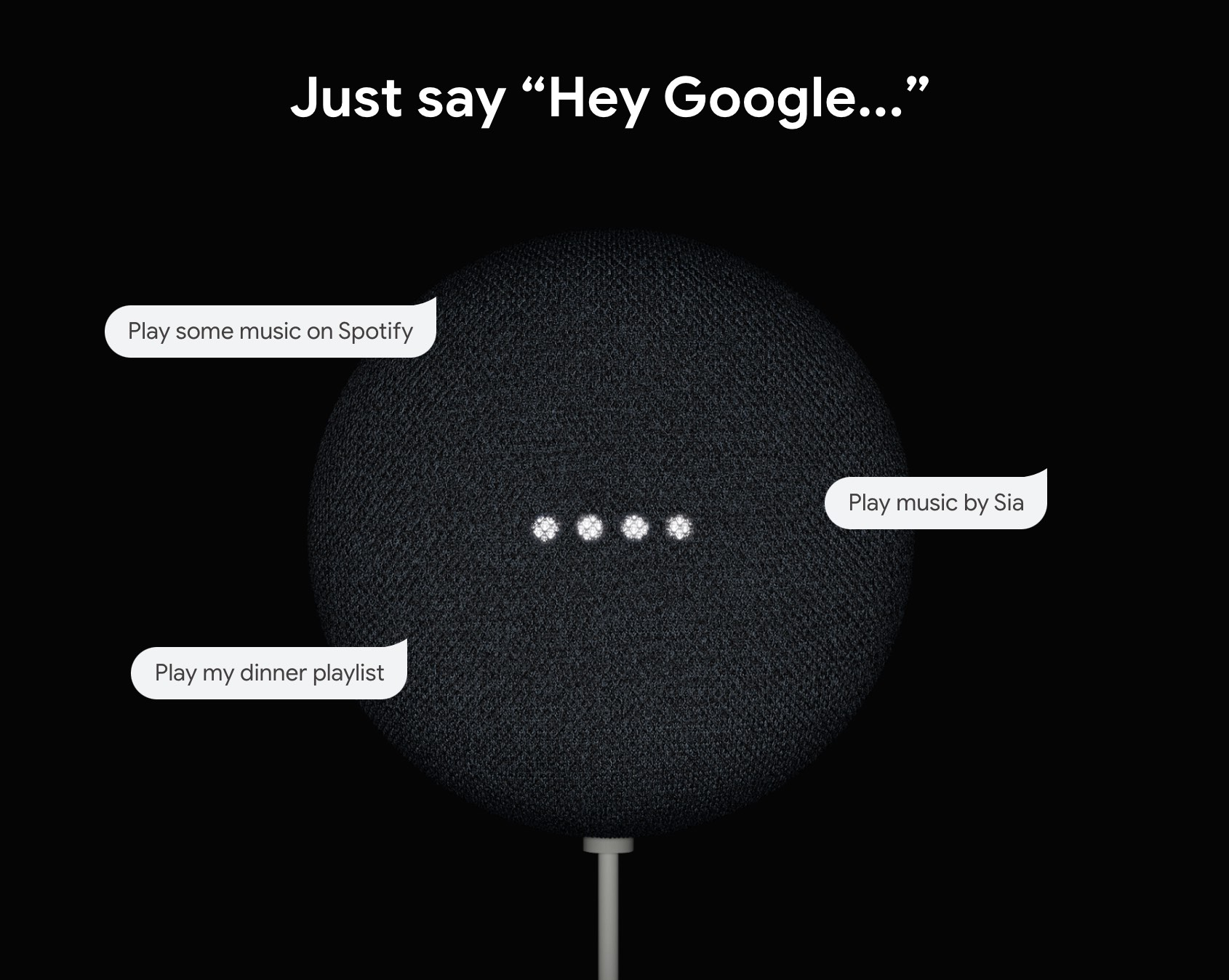say hey google