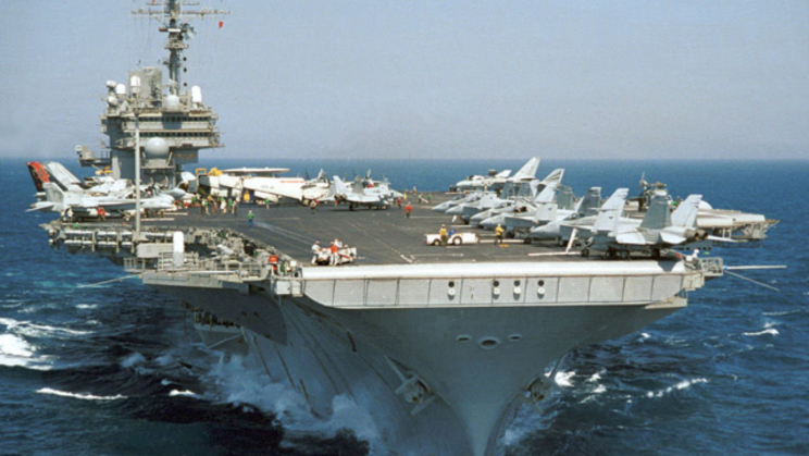 The US Navy Has Sold Two War-Veteran Aircraft Carriers for Pennies