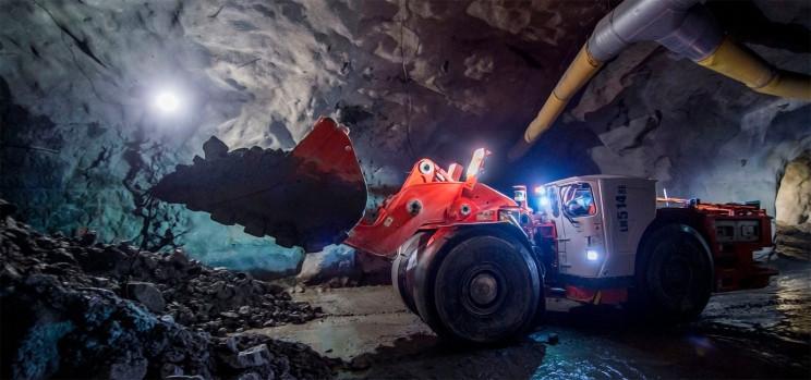 sandvik e mining machines