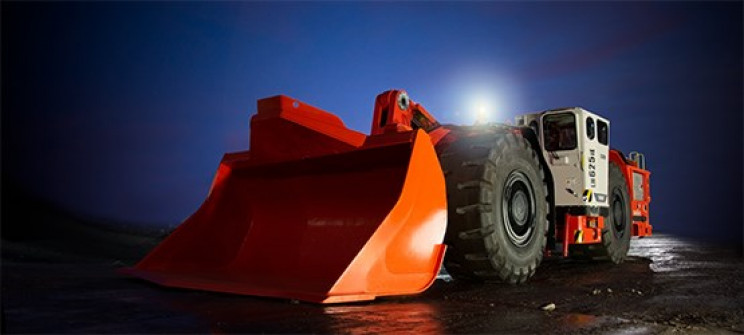 sandvik elec mining vehicles