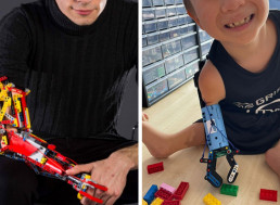 Ingenious Inventor Built a Prosthetic Arm for an 8-Year-Old Out of LEGO