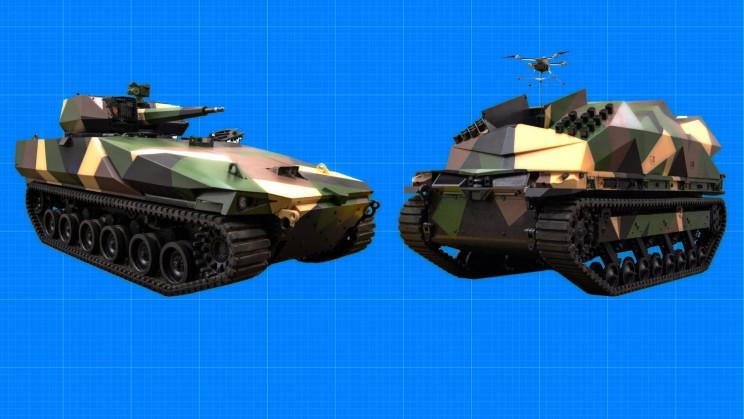 General Dynamics Is Building a New Class of Robotic Combat Vehicles