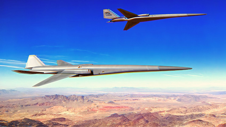 The US Air Force Awarded a New Contract for Its First Supersonic UAV Concept