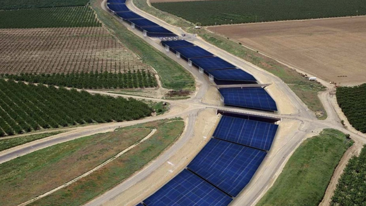 'Solar Canals' Could Save 63 Billion Gallons of Water Annually in California
