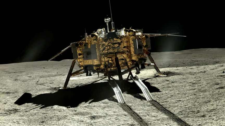 China Releases a Treasure Trove of New Images On The Far Side of The Moon - Interesting Engineering