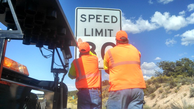 how are speed limits changed