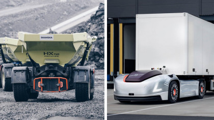 Volvo to Set Up New Autonomous Transport Business Starting 2020