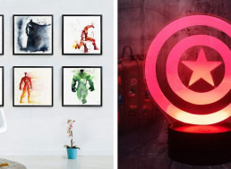 11 Decoration Ideas for Those with a Cool Taste in Comics