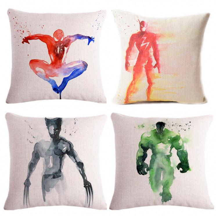 Superhero-cushion-cover