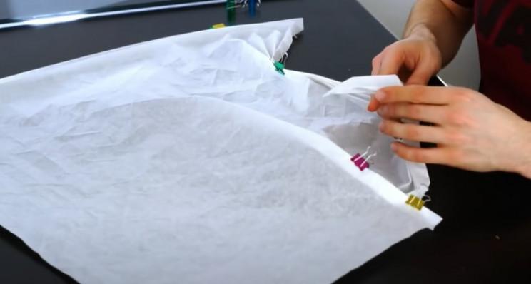 diy origami samurai concertina