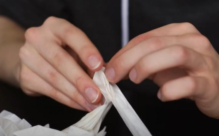 diy origami samurai fingers
