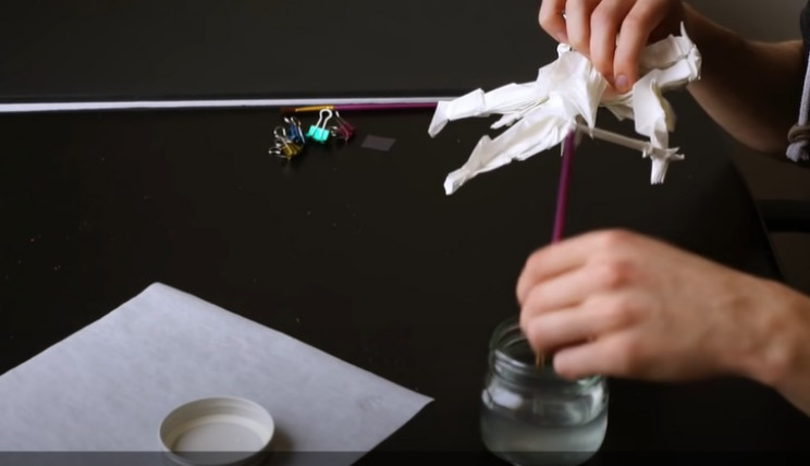 diy origami samurai water