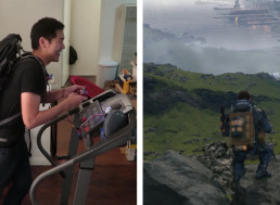 YouTuber Turns a Treadmill Into a PS4 Controller For Fitness Purposes