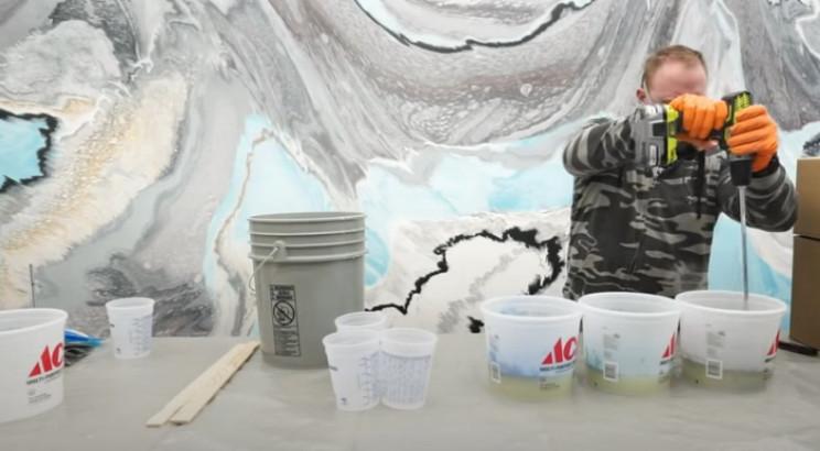 epoxy tabletop mix