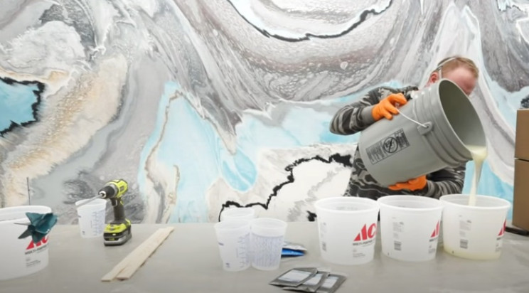 epoxy tabletop mix epoxy