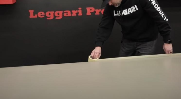 epoxy table finish tape