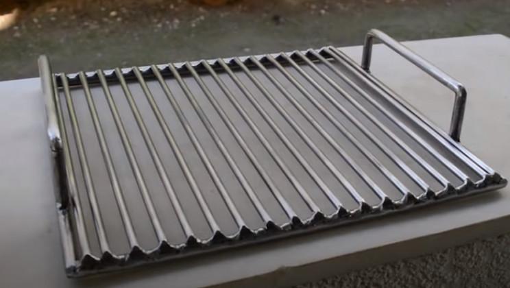 diy tie advanced grill