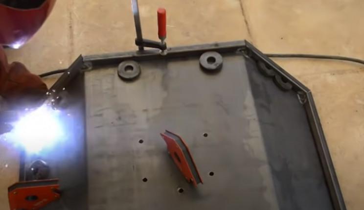 diy tie burner wing perimeter