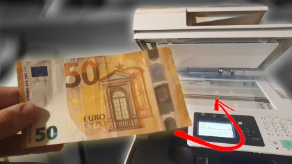 YouTuber Explores What Happens When You Photocopy Money
