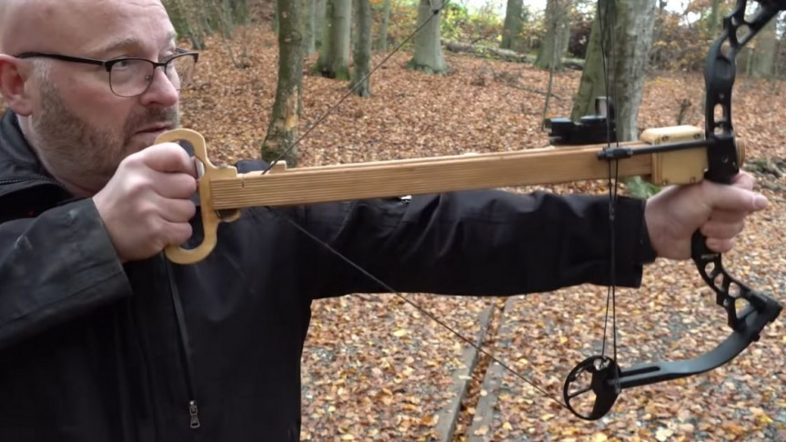 Guy Creates Modern Bow Which Makes Archery Much Easier Than Before