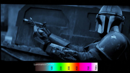 The Mandalorian's Maximum Peak Brightness Capped at 200 Nits Even Though It Is Labelled as HDR