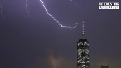 How the World's Tallest Buildings Handle Lightning Strikes