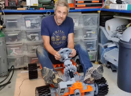3D Printing an Electric Human-Sized LEGO Go-Kart