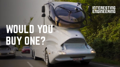 These Futuristic Motorhomes Were Built to Cater to All Your Needs
