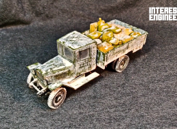 Building Your Own Frozen-Effect Zvezda Model Truck