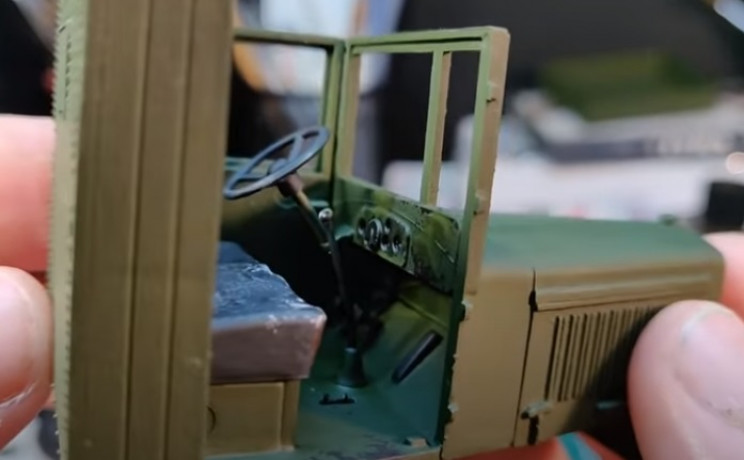 model truck cabin details